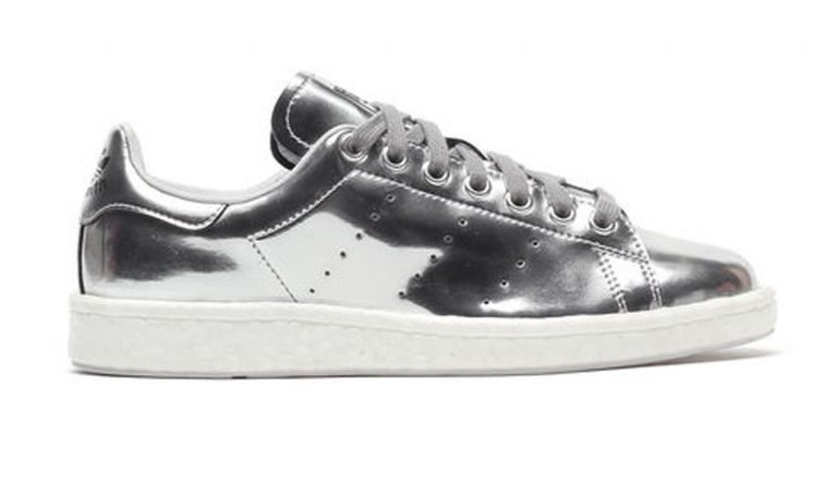 adidas Stan Smith boost Silver Metalic