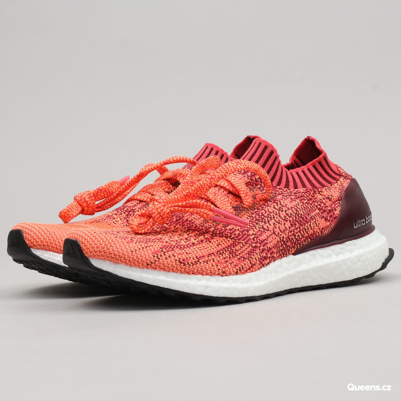 adidas UltraBoost Uncaged W colburgundy / core pink / glow orange