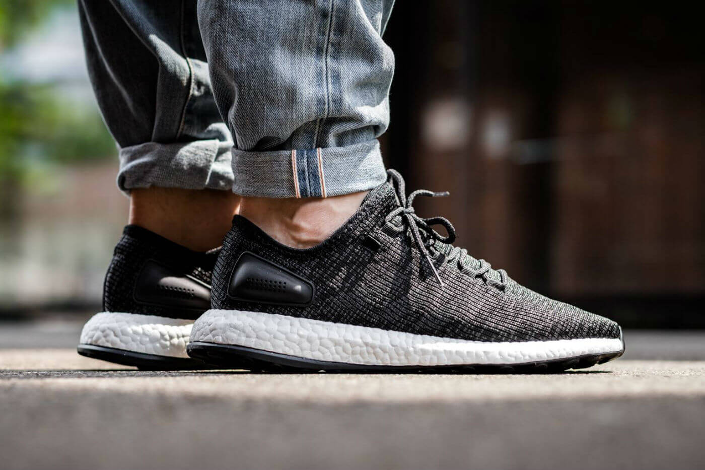 adidas-Pure-Boost-Core-Black-on-foot