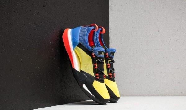 adidas x Stella McCartney PureBOOST X TR 3.0 Bright Yellow/ Hi-Res Blue/ Core Black